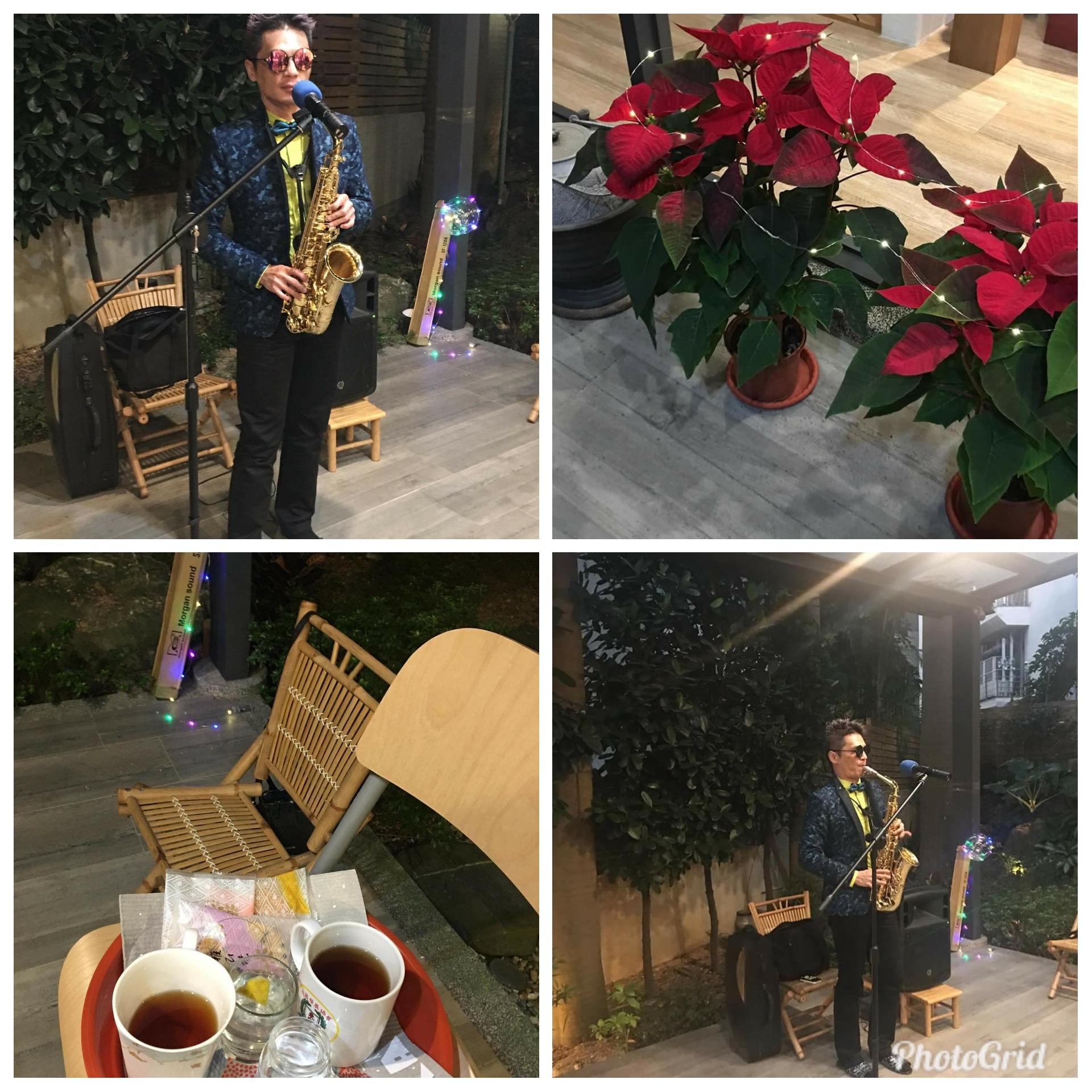 信宏在耶誕節私人宴會上表演,這是同一個女士在半年內的第三場邀約。