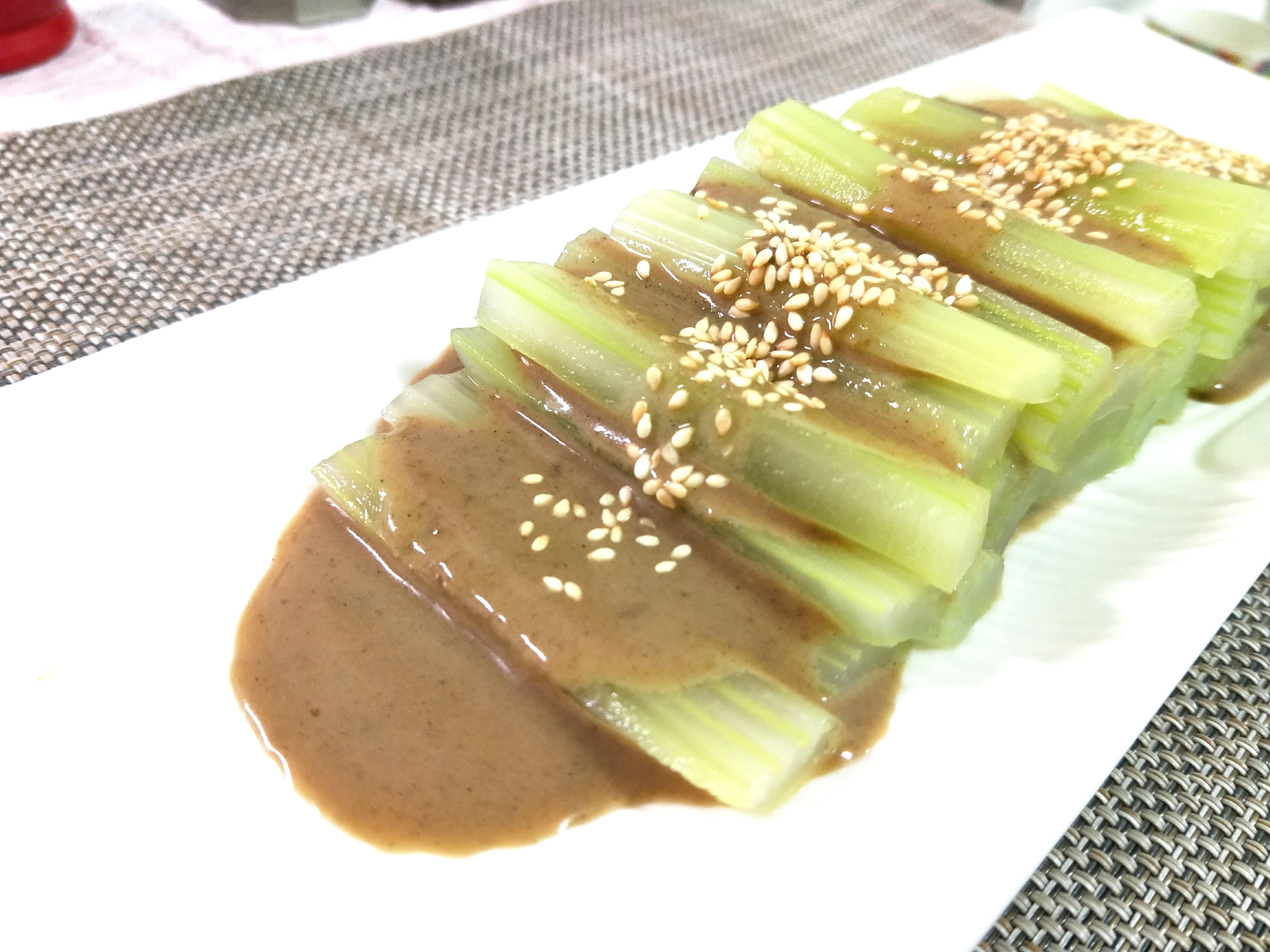 芹菜胡麻醬