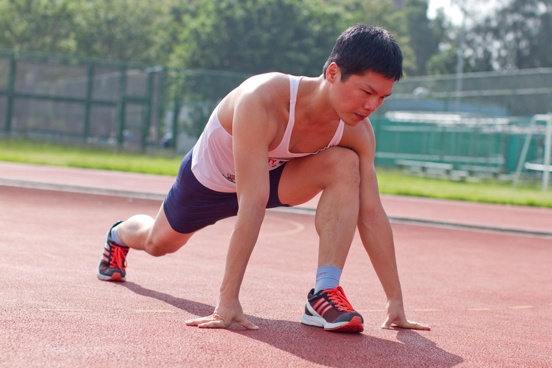 林信廷的路跑成績令人刮目相看。
