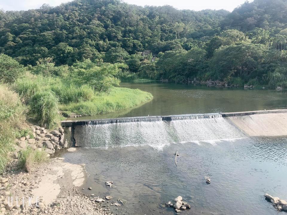 人工整治的攔砂壩