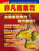 非凡商業周刊625期 (封面)